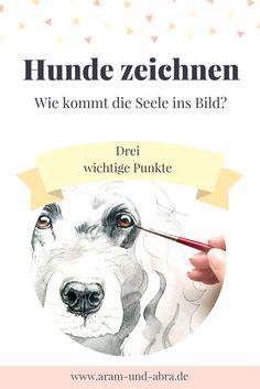 Hunde zeichnen | Anleitung | Tutorial | Augen malen