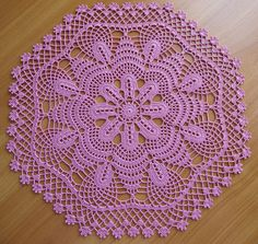 Rose Medallion Doily by Coats & Clark by Nik_OC, via Flickr