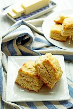 Classic, delicious and flaky all-butter biscuits ready to start your morning (or dinner) off right.