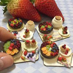 Gorgeous miniature desserts!!!