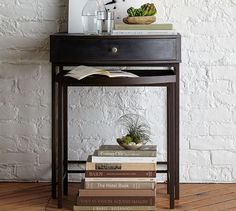 Woodrow Metal Nesting Bedside Tables, Set of 2 | Pottery Barn