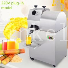 (1109.20$)  Watch more here - http://aipi5.worlditems.win/all/product.php?id=32804130126 - free shipping verticle 220V electric Sugar cane juicer machine sugarcane juice extractor machine sugar cane press machine