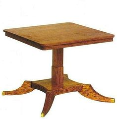 how to: Regency table