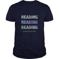 Cool Reading Reading Reading T shirts