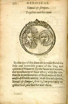 The heroicall devises of M. Claudius Paradin = whereunto are added the Lord Gabriel Symeons and others :: Emblem Books Demon Drawings, Alchemy Art, Spiritual Images, Esoteric Art, Masonic Symbols, Engraving Illustration, Stream Of Consciousness, Occult Art, Demonology
