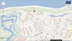 Dit is de kaart van waar alle straten liggen in Den Helder met de naam van een held.