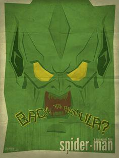 Spider-Man (2002) ~ Minimal Movie Poster by Matheus Candido #amusementphile