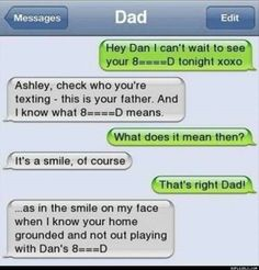 Check out these funny text messages! #9 is my favorite! – 10 pics