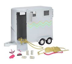 Horse Trailer For Lori 6in Dolls with Accessories