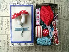 Spring Inspiration Box Swap - Made for Lelainia by speckled-egg, via Flickr