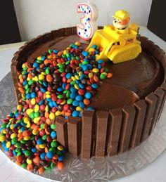 3 Year Old Birthday Cake, 4th Birthday Cakes, Homemade Birthday Cakes, Birthday Cakes For Women, Chocolate Birthday Cake Kids, Birthday Cake Kids Boys, Wife Birthday, Birthday Ideas, Torta Paw Patrol