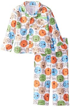 ABSORBA Baby Boys All Over Puppy Print Coat Pajamas Multi 12 Months -- Click on the image for additional details. (This is an affiliate link) #BabyBoySleepwearRobes