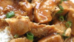 Slow Cooker General Tsao's Chicken