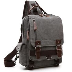 3f5851f096 2017 High Quality Canvas Large Volume Backpack