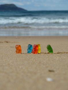Gummi Bears go walking...haha love it!