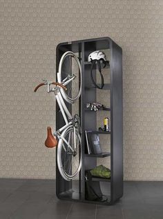 Decorative Ways to Store Bikes Indoor Adding Unusual Accents to Interior Design