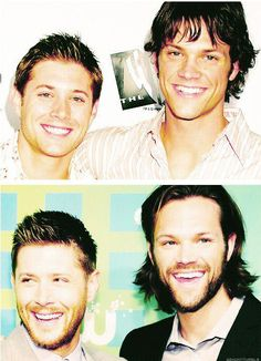 Jensen Ackles and Jared Padalecki... In the beginning
