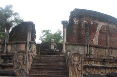 Vatadage de Polonnaruwa. Conoce sobre el Reino Pérdido de #Polonnaruwa, la antigua capital #Cingales. #SriLanka #Asia #Viajes