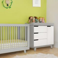 Babyletto Hudson Convertible Crib Grey