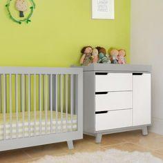 Babyletto Hudson Convertible Crib Grey