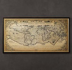 1588 World Map...this would be a fantastic gift for a special someone's engagement gift :)