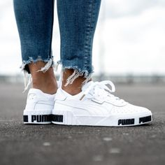 Sneakers Mode, Puma Sneakers, Casual Sneakers, Sneakers Fashion, Casual Shoes, Shoes Sneakers, Sneaker Outfits, Converse Sneaker, Puma Shoes Women