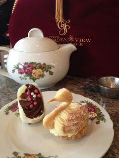 Tea at the Grand Floridian at Disney World.
