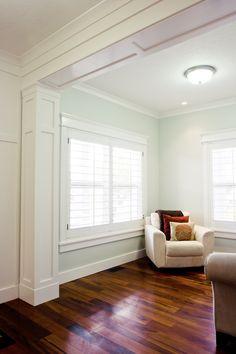 Separation for kitchen & living room. Blog | Tiek Built Homes