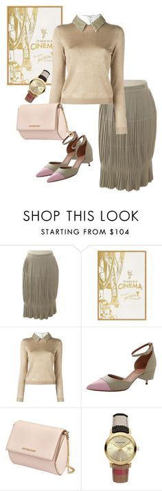 """""""bag"""" by masayuki4499 ❤ liked on Polyvore featuring Givenchy, Pottery Barn, Alice + Olivia and Burberry"""