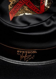 158bbe84cd6b0 The Lash Stetson Hat - Made Exclusively for Waylon Jennings