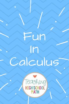 Fun Calculus AP Ideas - go beyond the worksheet! Math Workbook, Kindergarten Math Worksheets, Teaching Math, Math Activities, Math Games, Teacher Resources, Teaching Ideas, Ap Calculus, Maths Algebra