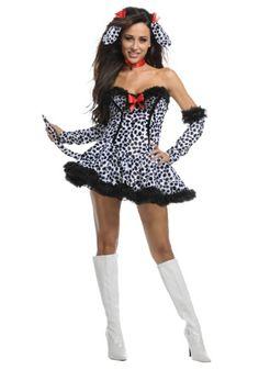 Exclusive Sexy Dalmatian Costume