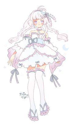 Kawaii Art, Kawaii Anime Girl, Anime Art Girl, Kawaii Drawings, Cute Drawings, O Cowboy, Cute Art Styles, Estilo Anime, Anime Poses