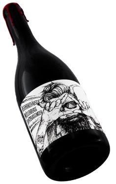 Der Teufel höchst persönlich hat den Reben hier so richtig Feuer gemacht! Wer diesen Wein nicht probiert, dem ist nicht zu helfen. Wine Bottle Design, Wine Label Design, Wine Label Art, Wine Labels, Pinot Noir Wine, Red Wine Glasses, Alcohol Bottles, Wine Brands, Gifts For Wine Lovers
