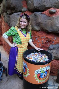 Mickey's Not so scary Halloween Party Treats... Love it...Always gets a bag full..