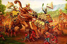 Thai War Scene