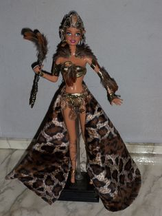 Created by Robyn Rucker  OOAK Warrior Princess Amazon Barbie Doll  http://stores.ebay.com/Robyns-Fantasy-Dolls
