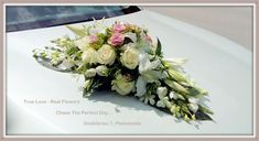 Fresh Flowers Only. Wedding Cars, Fresh Flowers, True Love