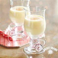 Your guests will LOVE this Classic Homemade #Egg #Nog from Eagle Brand®