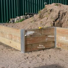 Step four how to install a retaining wall