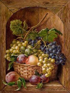 """Картина маслом """"Натюрморт с фруктами"""" - фото 4301"""