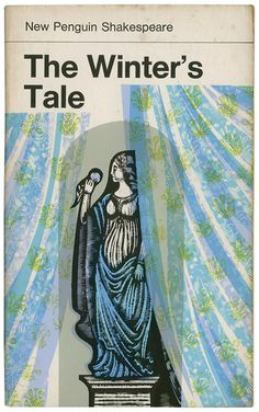 """The Winter's Tale"" by William Shakespeare. Cover illustration by David Gentleman Book Cover Art, Book Cover Design, Book Design, Book Art, Vintage Book Covers, Vintage Books, David Gentleman, Vintage Penguin, Creative Review"