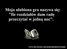 Ile rozdziałów przeczytam w jedną noc? I Love Books, Books To Read, My Books, Forever Book, Book Memes, Some Words, Introvert, Book Worms, Texts