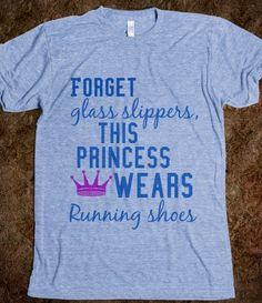 Running princess, cute!!