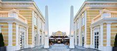 Designer Outlet Parndorf | Blaguss Designer, Street View, Mansions, House Styles, Home Decor, Environment, Austria, Luxury, Places