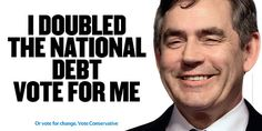 Gordon brown - i doubled the national debt