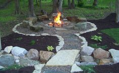 Off-Grid Home Sweet Home: Backyard Fire Pit Ideas...