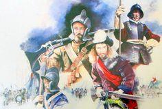 Royalist troops, English Civil War