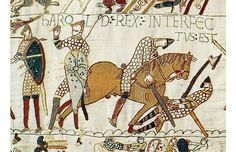 The Battle of Hastings was fought on 14 October 1066 between the Norman-French army of Duke William II of Normandy and an English army under the Anglo-Saxon King Harold Godwinson, beginning the Norman conquest of England British History, Art History, Family History, History Jokes, Design History, Hastings 1066, Hastings England, Chateau Moyen Age, Anglo Saxon Kings