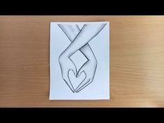 How to draw Lovely Hands with pencil sketch. - YouTube